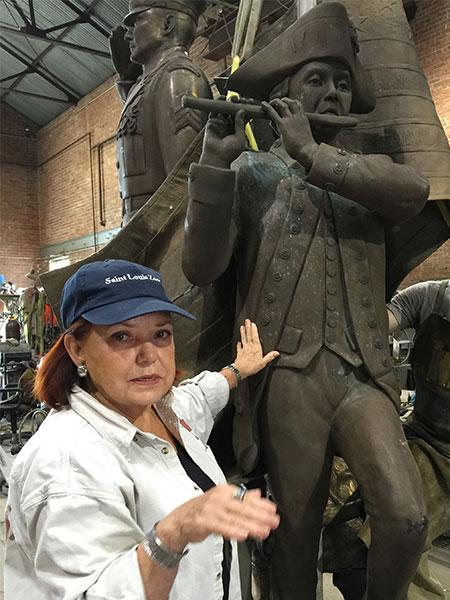 Sculptor B.J. Mungenast (Barbara McAboy Mungenast)